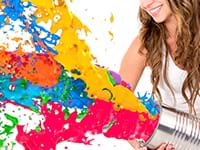 Team building painting Birmingham