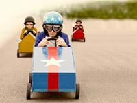 The Soap Box Derby Teambuilding Brimingham